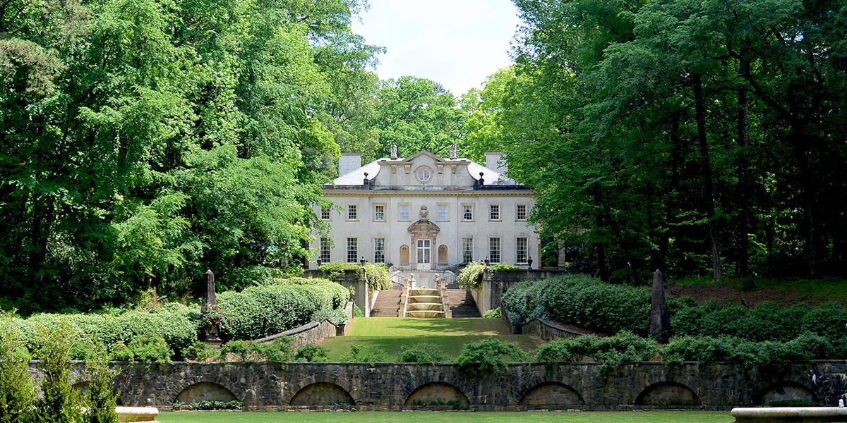 The Swan House Is One Of Many Famous Filming Locations In Atlanta.