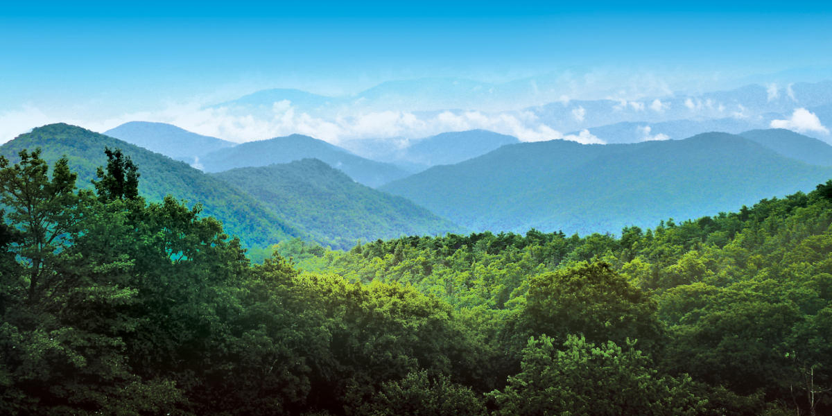 atlanta road trips, blue ridge mountains