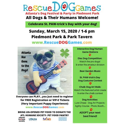 Rescue Dog Olympics