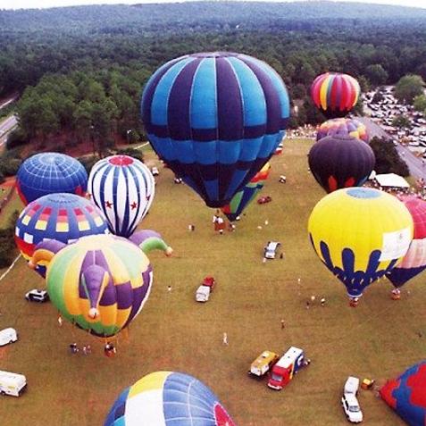 Sky High Hot Air Balloon Festival Atlanta Planit