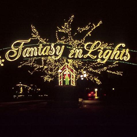Fantasy in lights atlanta planit - Callaway gardens christmas lights ...