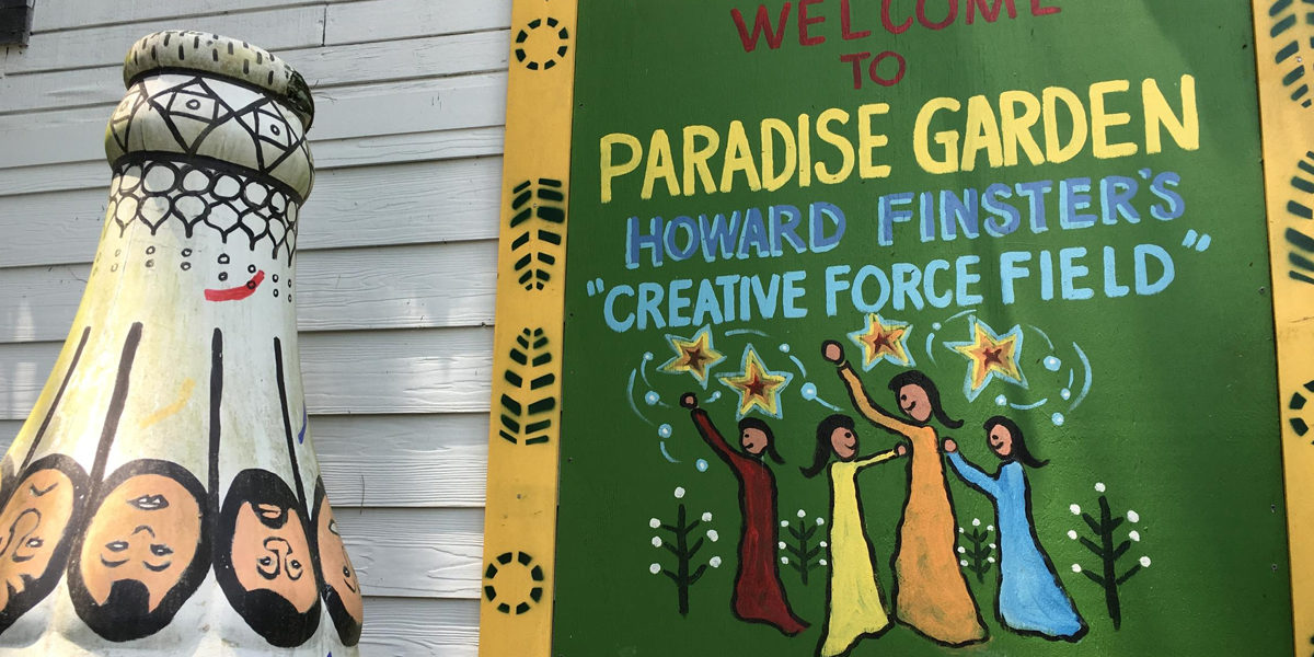 Artists In Paradise Reflecting On Howard Finster S Legacy