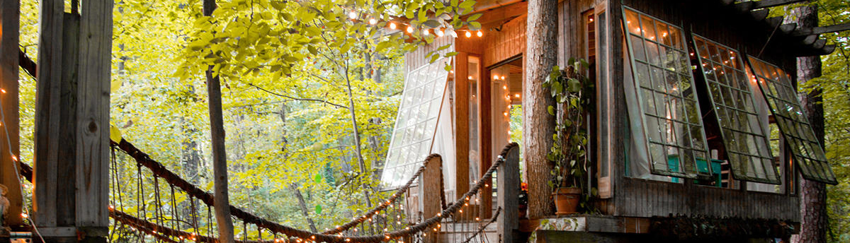 Go Glamping In Georgia At These 5 Treehouse And Yurt Escapes