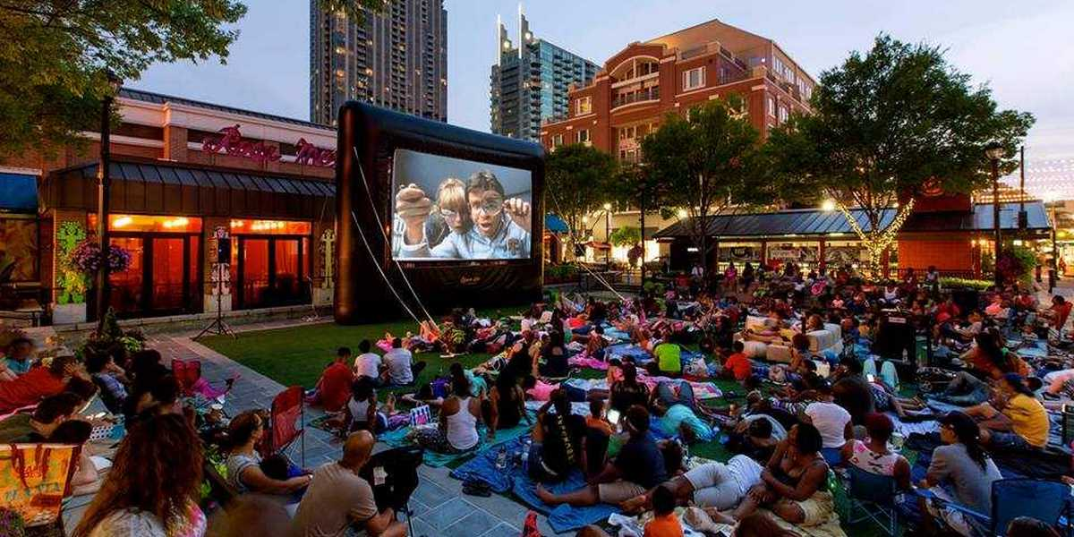Atlantic Station has free outdoor movies in Central Park this summer.