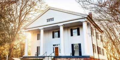 Bulloch Hall was built in Roswell in 1839 by the slaves of Major James Stephens Bulloch. It's one of Atlanta's historic home tours.