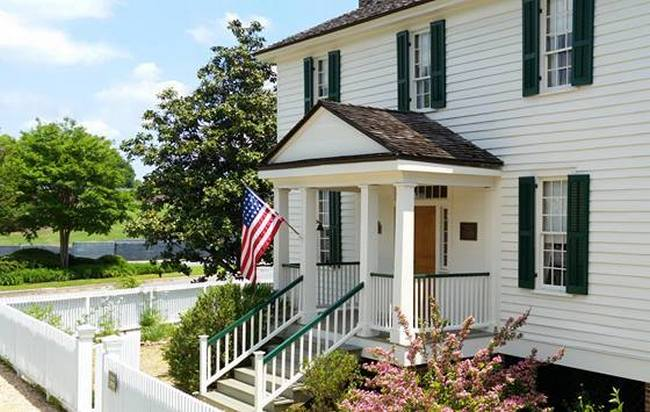 The Root House was built circa 1845 for Hannah and William Root, early settlers of Marietta.