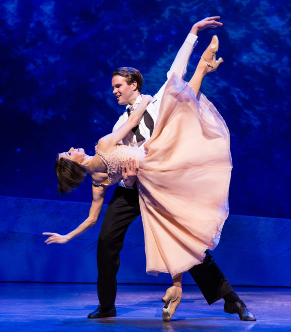 Sara Esty and McGee Maddox in An American in Paris. Photo by Matt hew Murphy.