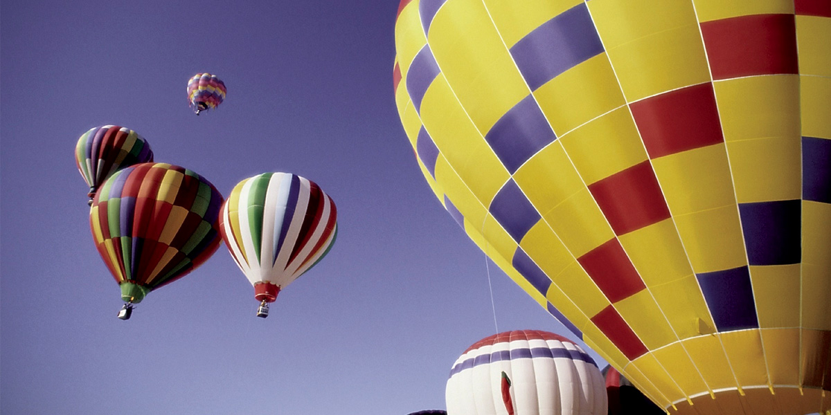 The 19th Sky High Hot Air Balloon Festival at Callaway Gardens is one of the top things to do in atlanta this Labor Day weekend.