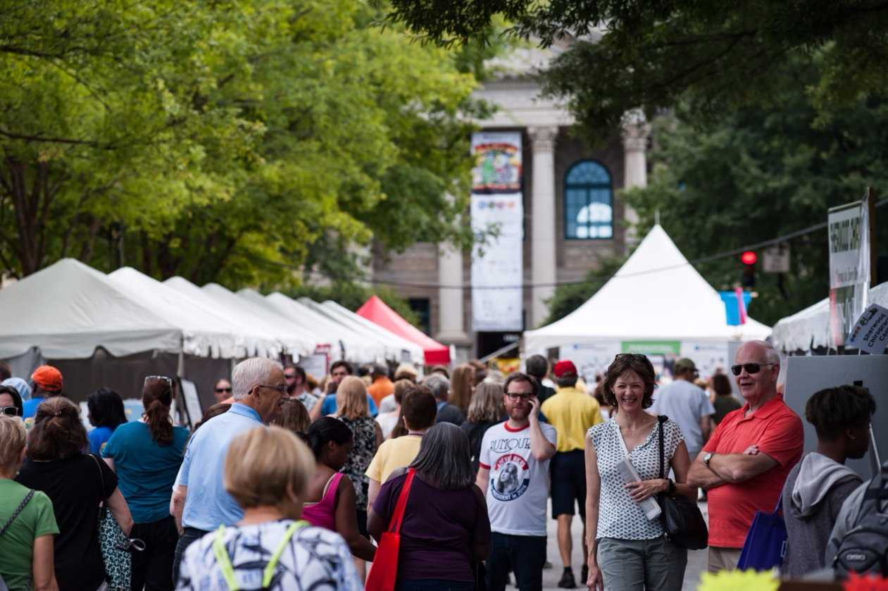 The Decatur Book Festival takes place Sept. 1 through 3.