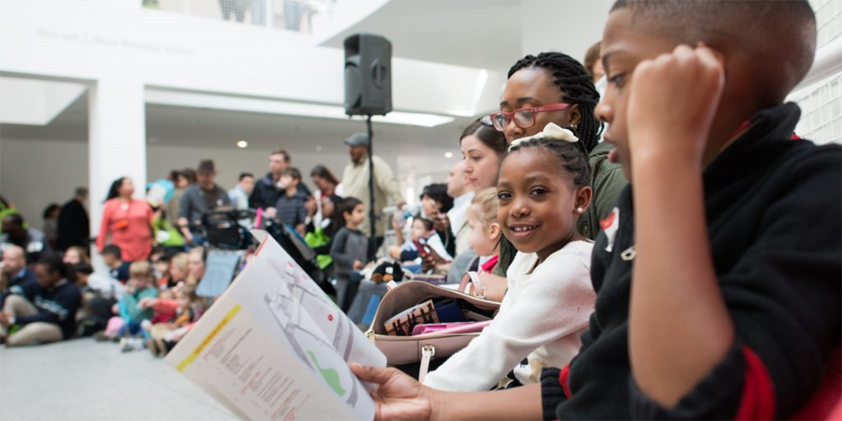 """The High Museum's special """"Day After Thanksgiving"""" event features hands-on workshops and live performances. Photo courtesy of High Museum of Art."""