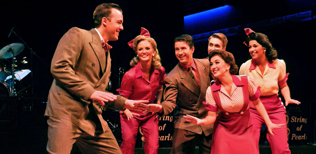 """In The Mood"" is a 1940s musical revue at the Cobb Energy Performing Arts Centre."
