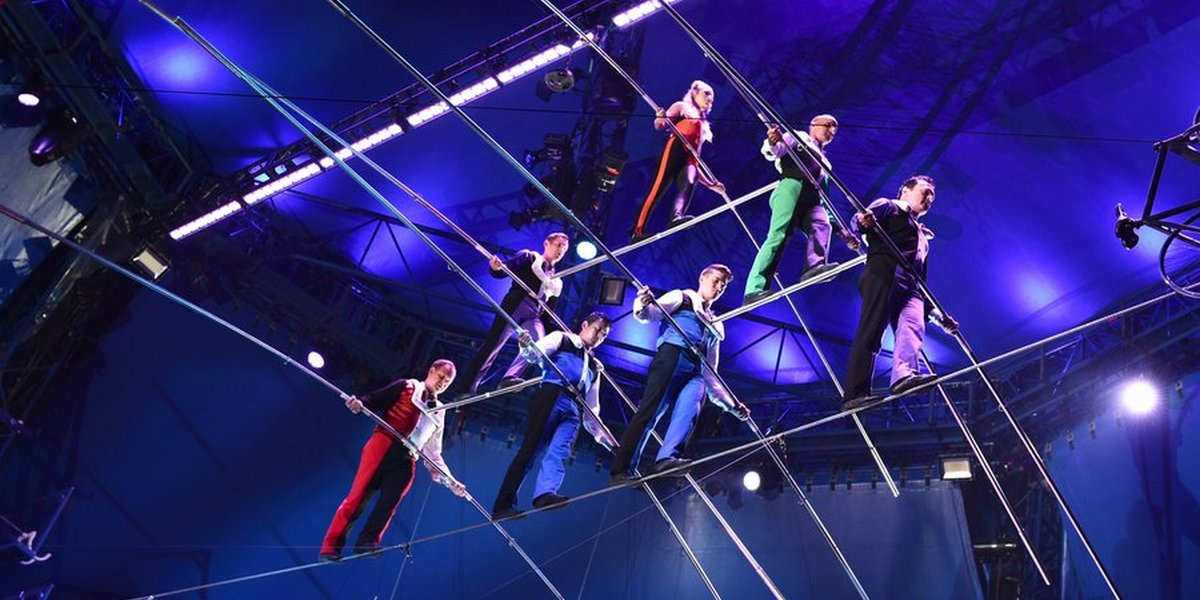 The Biggle Apple Circus is at the Verizon Wireless Ampitheatre through Feb. 25.