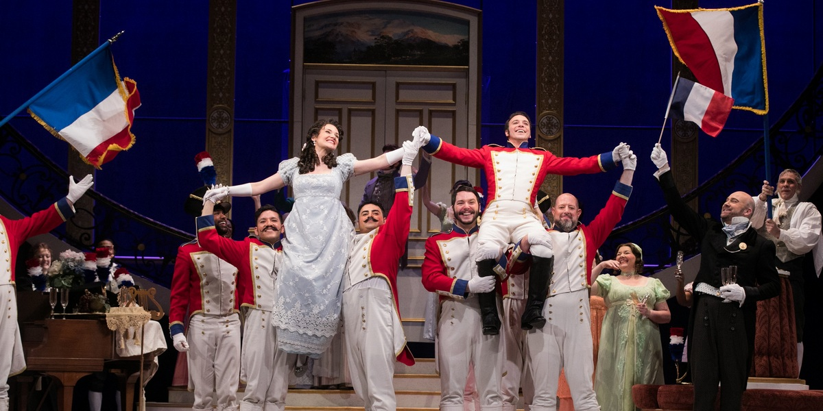 "The Atlanta Opera presents Donizetti's ""The Daughter of the Regiment"" on stage at the Cobb Energy Performing Arts Centre on Feb. 27 and March 2 and 4."