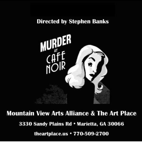 Murder At Cafe Noir