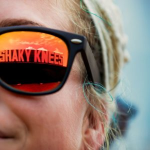 The Shaky Knees Music Festival spans three days.