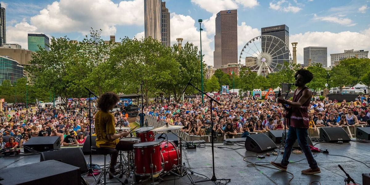The Shaky Knees Music Fest takes place over three days.