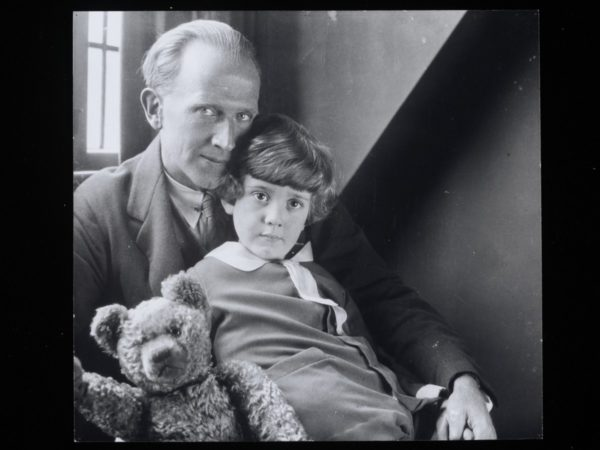 The High Museum's exhibit highlights A.A. Milne's unique storytelling style, including his wonderful and humorous use of language.