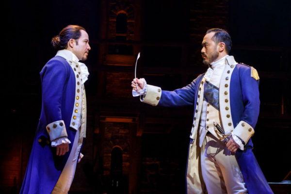"""Hamilton"" is in Atlanta from May 22 through June 10."