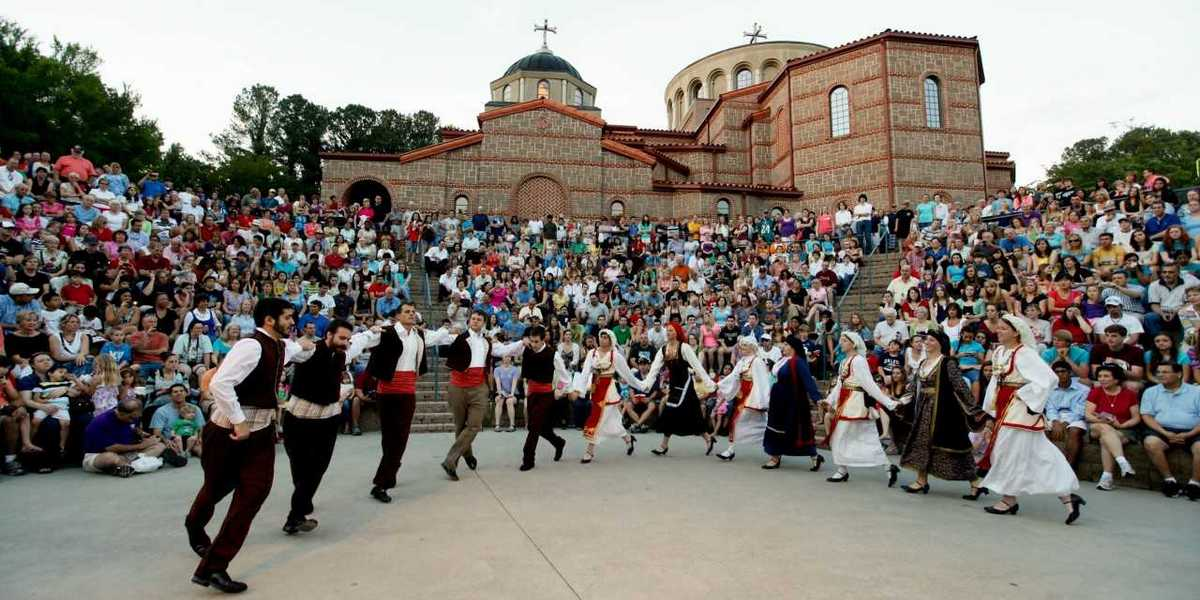 Enjoy Greek food, cooking demonstrations, Greek dancing, entertainment and more at the Marietta Greek Festival.