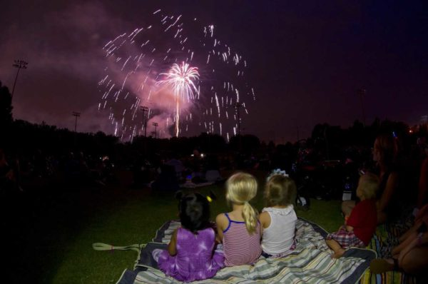 Alpharetta's Fourth of July party takes place at Wills Park.