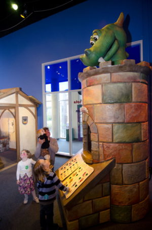 """The Amazing Castle"" is for children ages 2 through 8 and is at Children's Museum of Atlanta through Sept. 9."