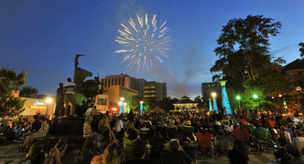 Celebrate the Fourth of July in Decatur's square with a parade, a live concert and fireworks.