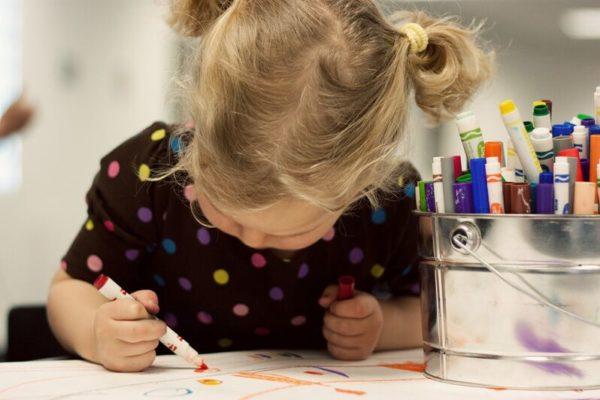 Every Thursday from 10 a.m. to 4 p.m. toddlers and their caregivers can participate in special programming at the High Museum of Art.