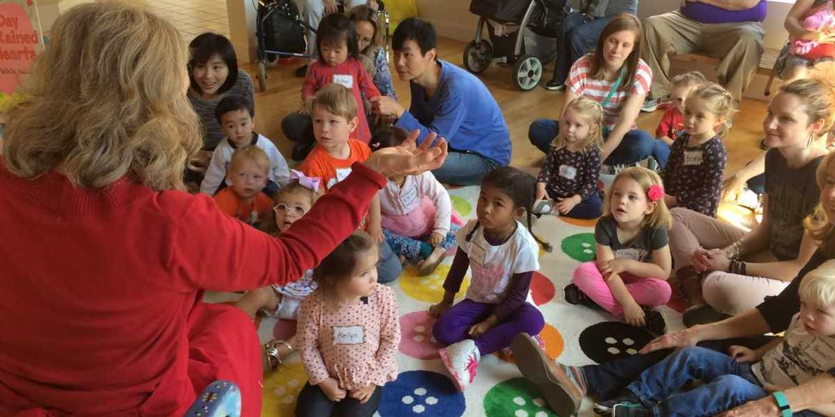 Toddler Fridays takes place at The Hudgens Center for Art & Learning the last Friday of each month from 10:30 a.m. to 12 p.m. from January through October.