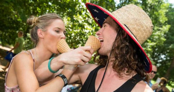 The Atlanta Ice Cream Festival takes place on Saturday at Piedmont Park.