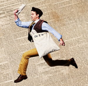 "See ""Disney's NEWSIES"" July 19 through Sept. 2 at Aurora Theatre in Lawrenceville."