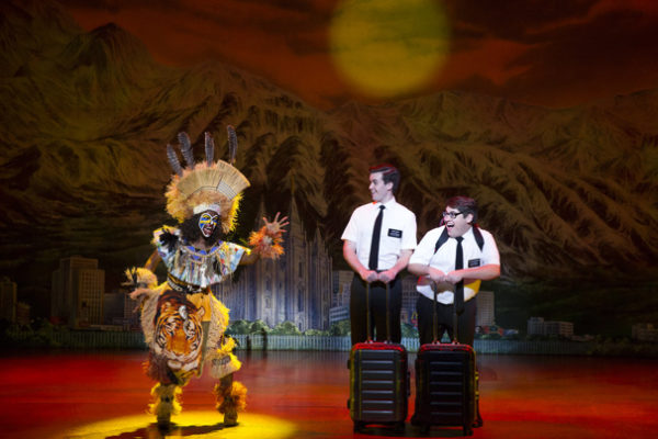"Broadway in Atlanta presents ""The Book of Mormon"" at the Fox Theater July 17 through 22."