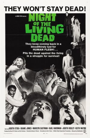 "Attend Friday's screening of ""Night of the Living Dead"" in costume for a chance to be voted ""Best Zombie."""