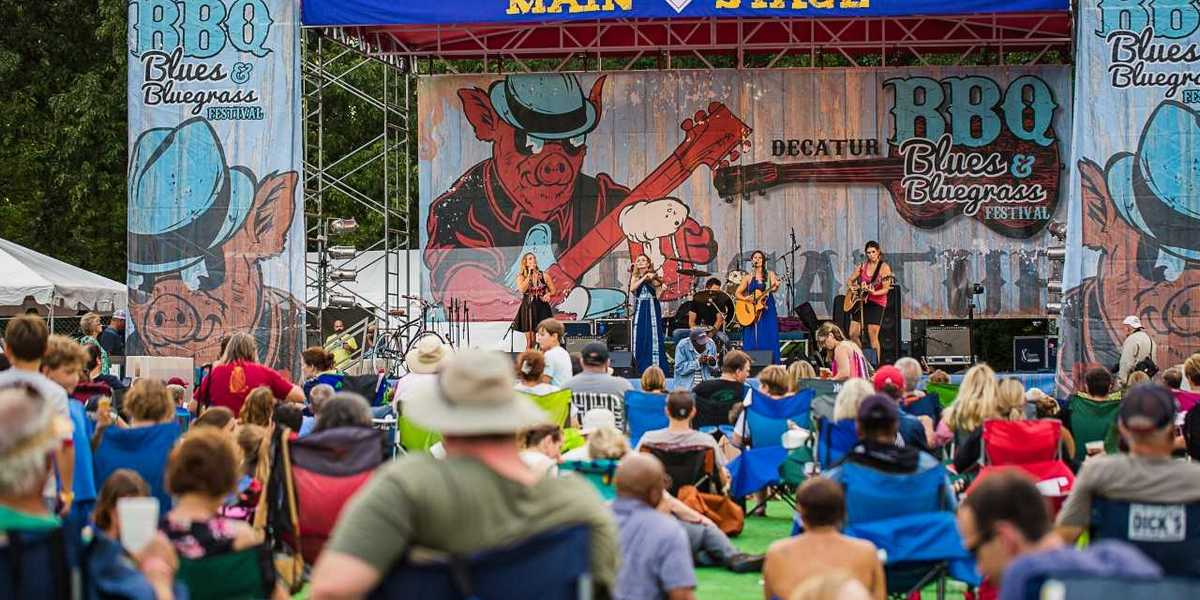 Decatur's 18th annual BBQ, Blues and Bluegrass Festival is Saturday in Harmony Park.