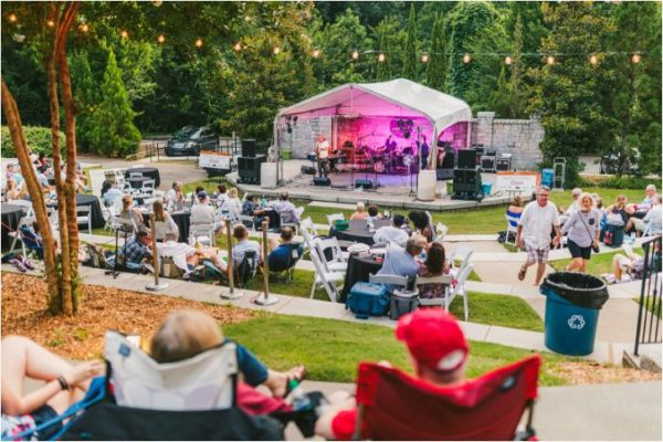 "Pack a picnic for Callanwolde's ""Jazz on the Lawn"" concert on Friday."
