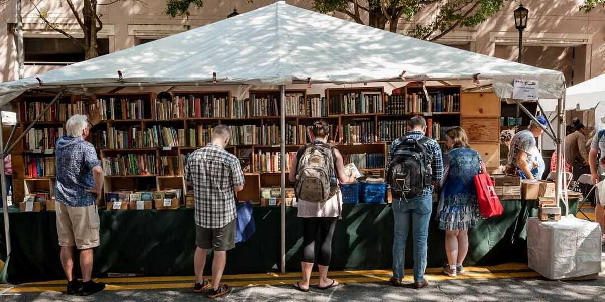 The Decatur Book Festival takes place in the Decatur Square over Labor Day weekend, Aug. 31 through Sept. 2.