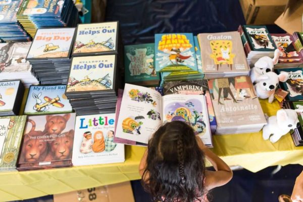 The Decatur Book Festival includes readings and book sales for both adults and children.