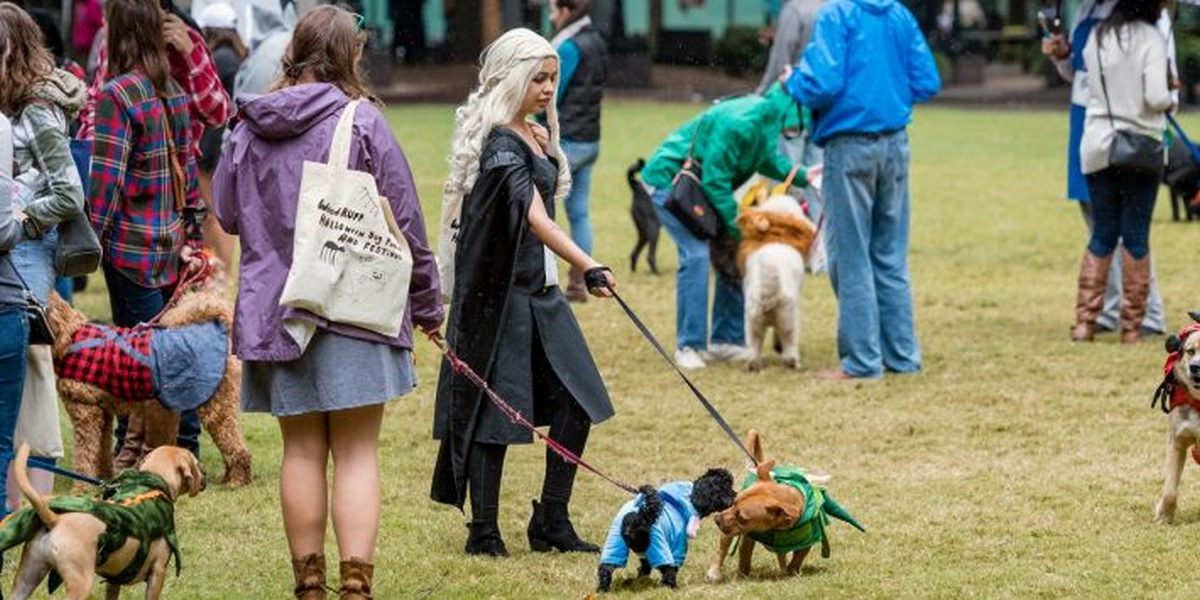 Doggy Con is coming to Woodruff Park on Aug. 18 from 9 a.m. to noon.