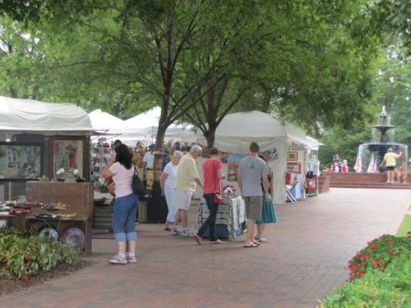 """Art in the Park"" takes place Sept. 1 through 3 in the Marietta Square."