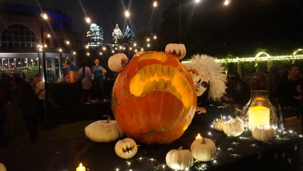 Atlanta Botanical Garden pumpkin carving contest