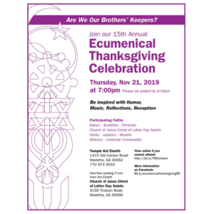 Ecumenical Thanksgiving