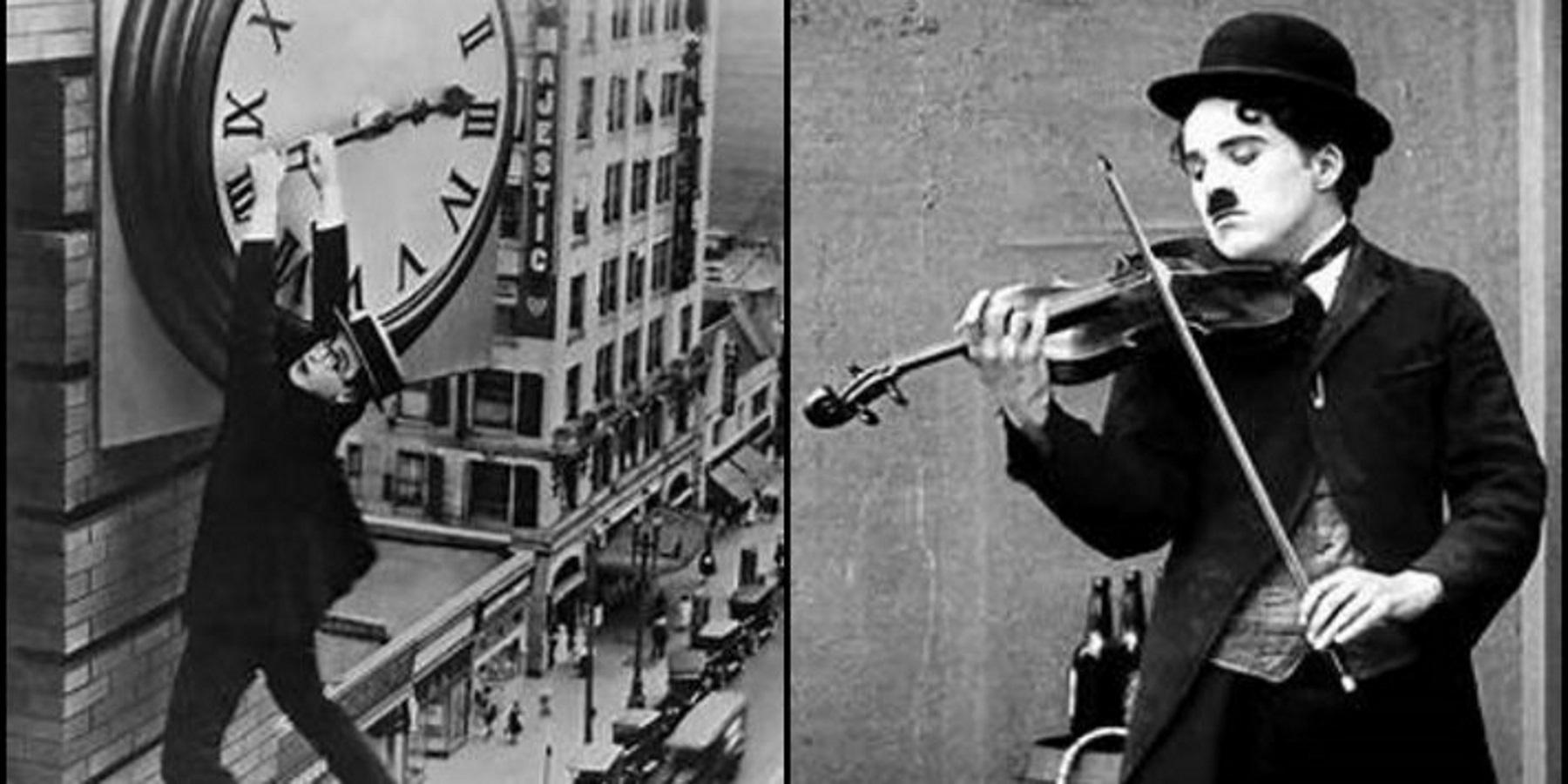 Buster Keaton and Charlie Chaplin