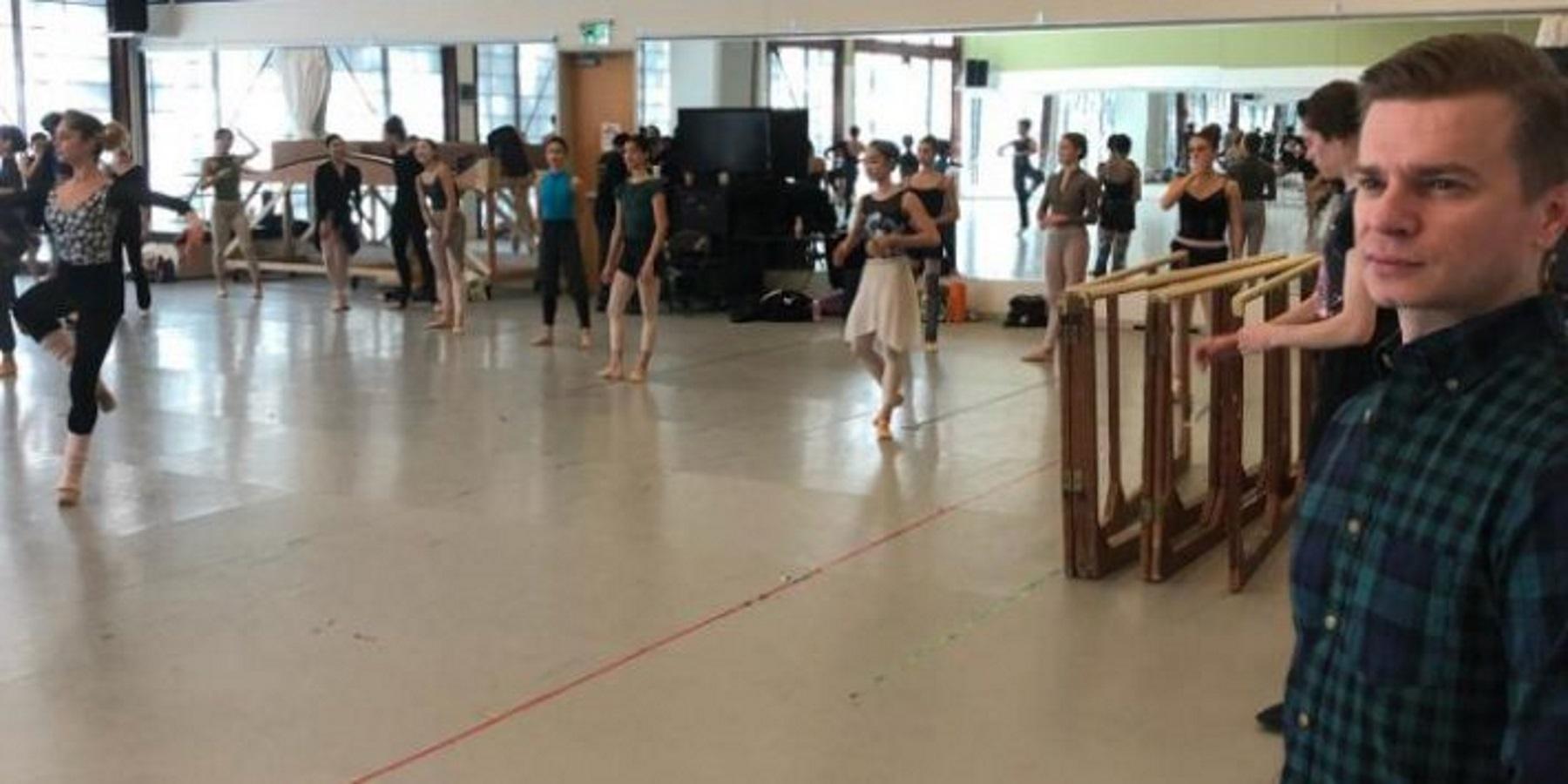 Atlanta Ballet rehearsal
