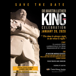 Annual Dr. Martin Luther King